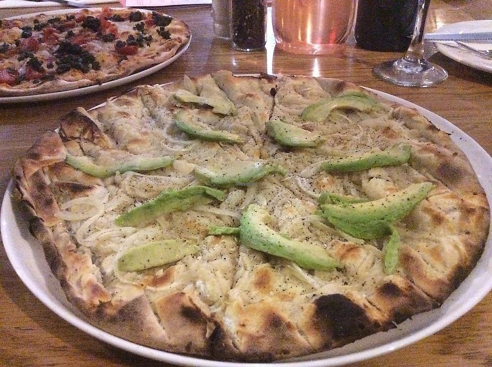 "Photo of Col'Cacchio Pizzeria - Montecasino  by <a href=""/members/profile/%C5%A0%C3%A1rkaHedstr%C3%B6m"">ŠárkaHedström</a> <br/>Closer look at their Bianca - crisp base, vegan cheese, onion & avocado. Really good, an absolute treat!  <br/> January 14, 2018  - <a href='/contact/abuse/image/108661/346428'>Report</a>"