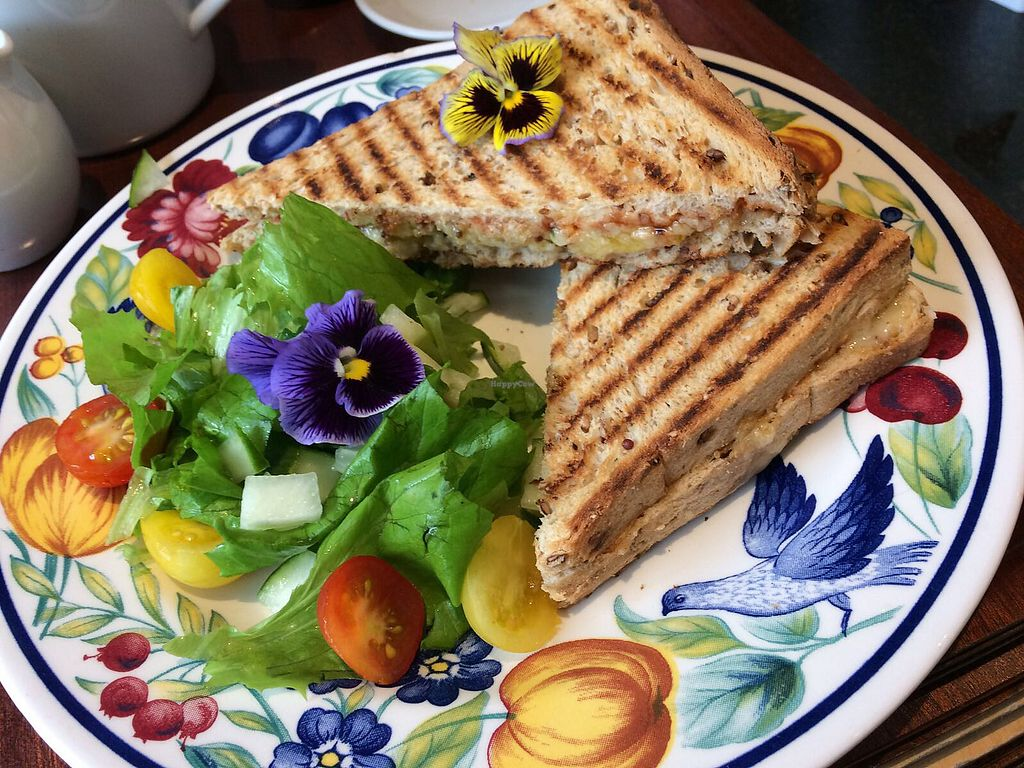 """Photo of Sunnyside Rural Trust Farmshop & Cafe  by <a href=""""/members/profile/keelysiddiquicharlick"""">keelysiddiquicharlick</a> <br/>Amazing toastie <br/> February 1, 2018  - <a href='/contact/abuse/image/108680/353598'>Report</a>"""