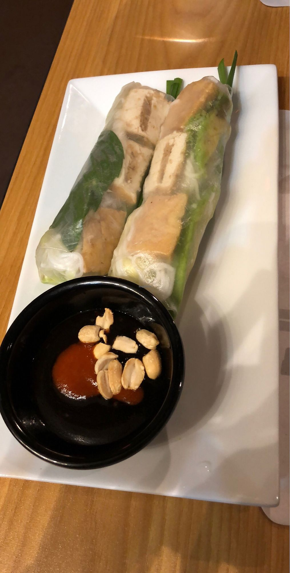 "Photo of Peak of Asia  by <a href=""/members/profile/AshleyJoNix"">AshleyJoNix</a> <br/>Tofu spring rolls with avocado added <br/> January 13, 2018  - <a href='/contact/abuse/image/108719/346127'>Report</a>"