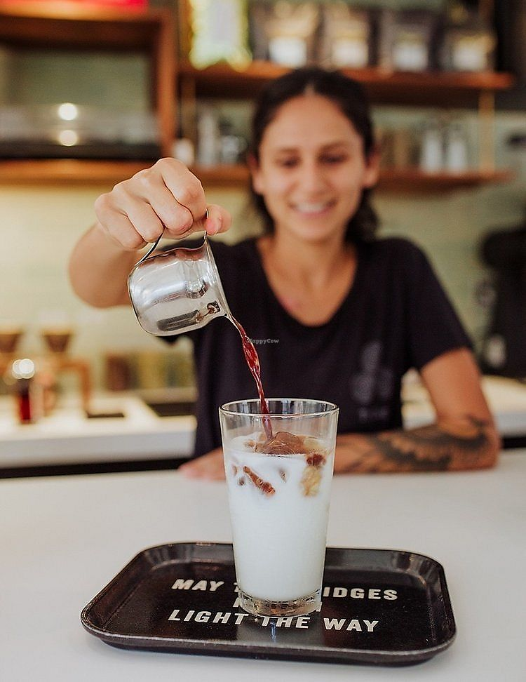 """Photo of Trilogy Coffee  by <a href=""""/members/profile/LauraYasmine"""">LauraYasmine</a> <br/>Iced Latte for the win! <br/> January 25, 2018  - <a href='/contact/abuse/image/108742/350707'>Report</a>"""