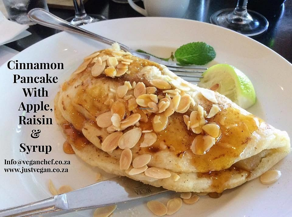 """Photo of Harrie's Pancakes   by <a href=""""/members/profile/%C5%A0%C3%A1rkaHedstr%C3%B6m"""">ŠárkaHedström</a> <br/>Their pancakes are vegan by default ! Light and fluffy with a variety of vegan options as fillers. We always swing by when up in Pretoria for a well deserved treat!  <br/> January 20, 2018  - <a href='/contact/abuse/image/108744/348702'>Report</a>"""