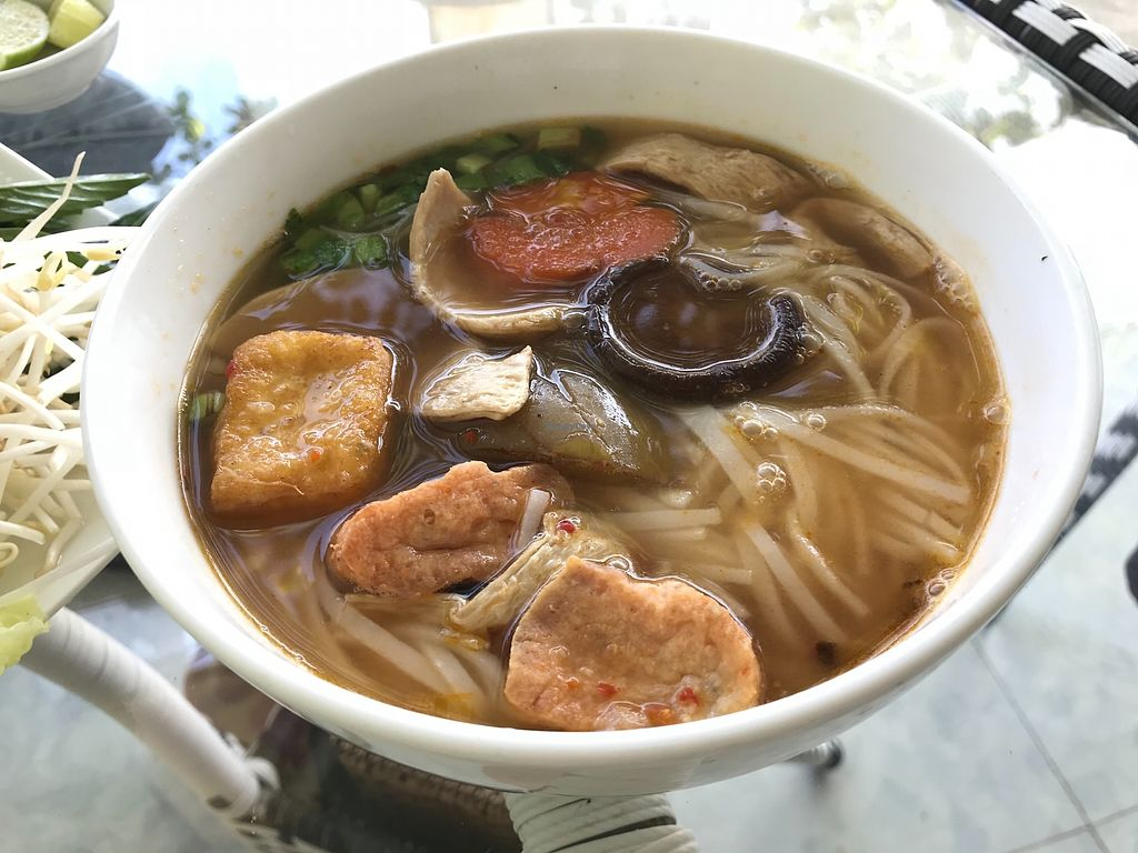 """Photo of Phap Duyen Mon An Chay  by <a href=""""/members/profile/kezia"""">kezia</a> <br/>All of the pho dishes are amazing  <br/> January 7, 2018  - <a href='/contact/abuse/image/108756/343922'>Report</a>"""