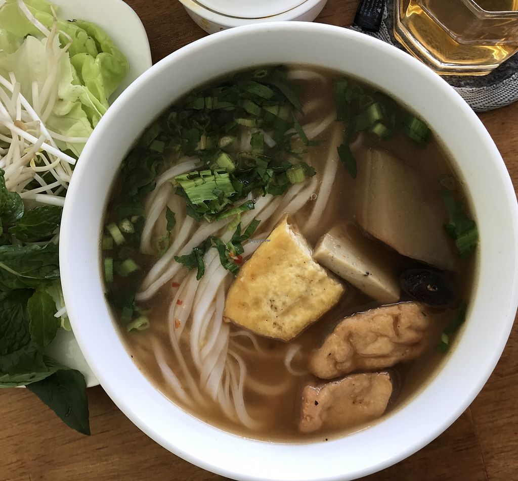 """Photo of Phap Duyen Mon An Chay  by <a href=""""/members/profile/kezia"""">kezia</a> <br/>Another delicious pho - I ate this for breakfast most mornings here <br/> January 7, 2018  - <a href='/contact/abuse/image/108756/343925'>Report</a>"""