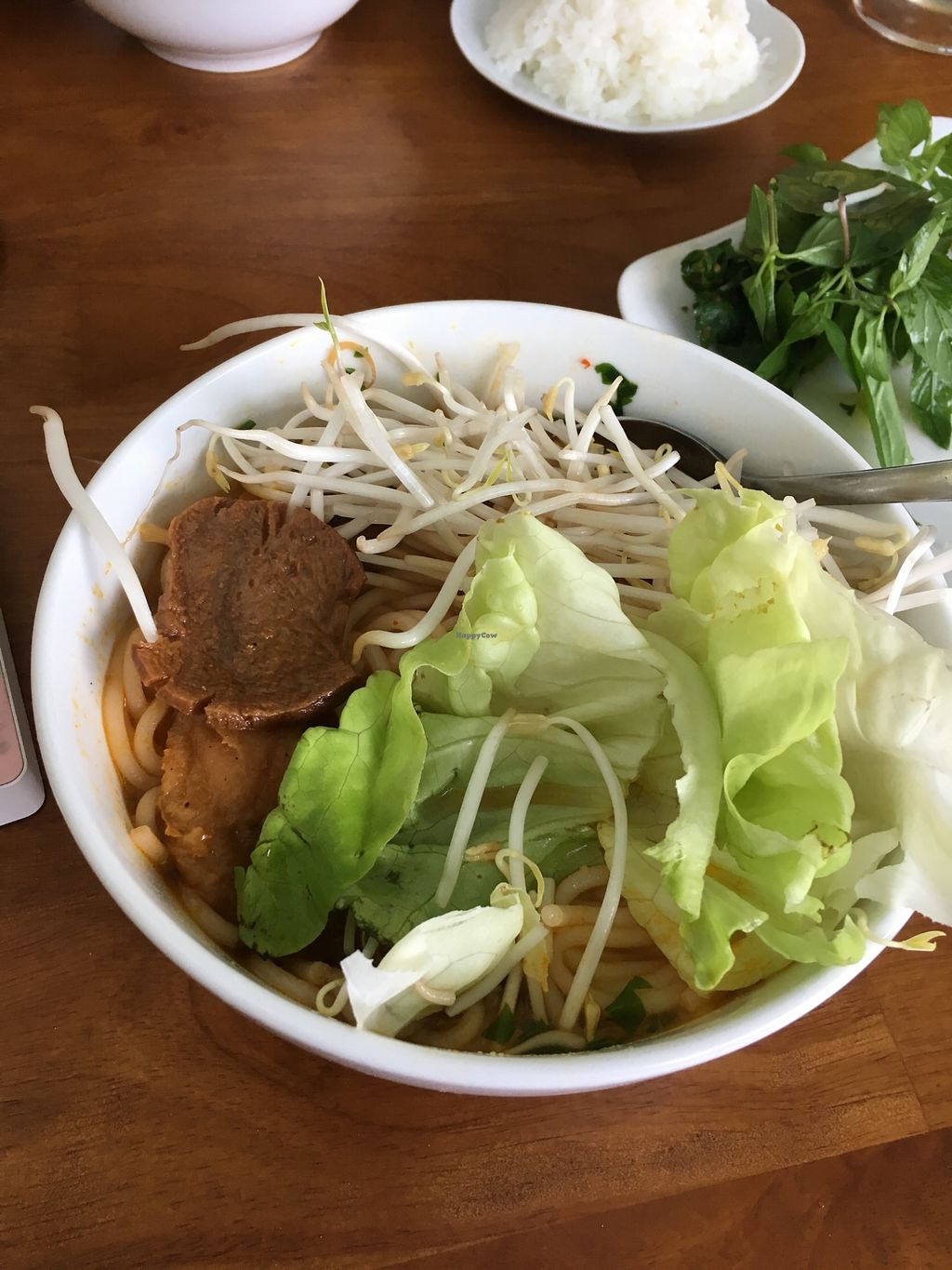 """Photo of Phap Duyen Mon An Chay  by <a href=""""/members/profile/MollyKennedy"""">MollyKennedy</a> <br/>Bún Bò Huế Chay (Hue Beef Noodle Vegetarian) <br/> January 24, 2018  - <a href='/contact/abuse/image/108756/350405'>Report</a>"""