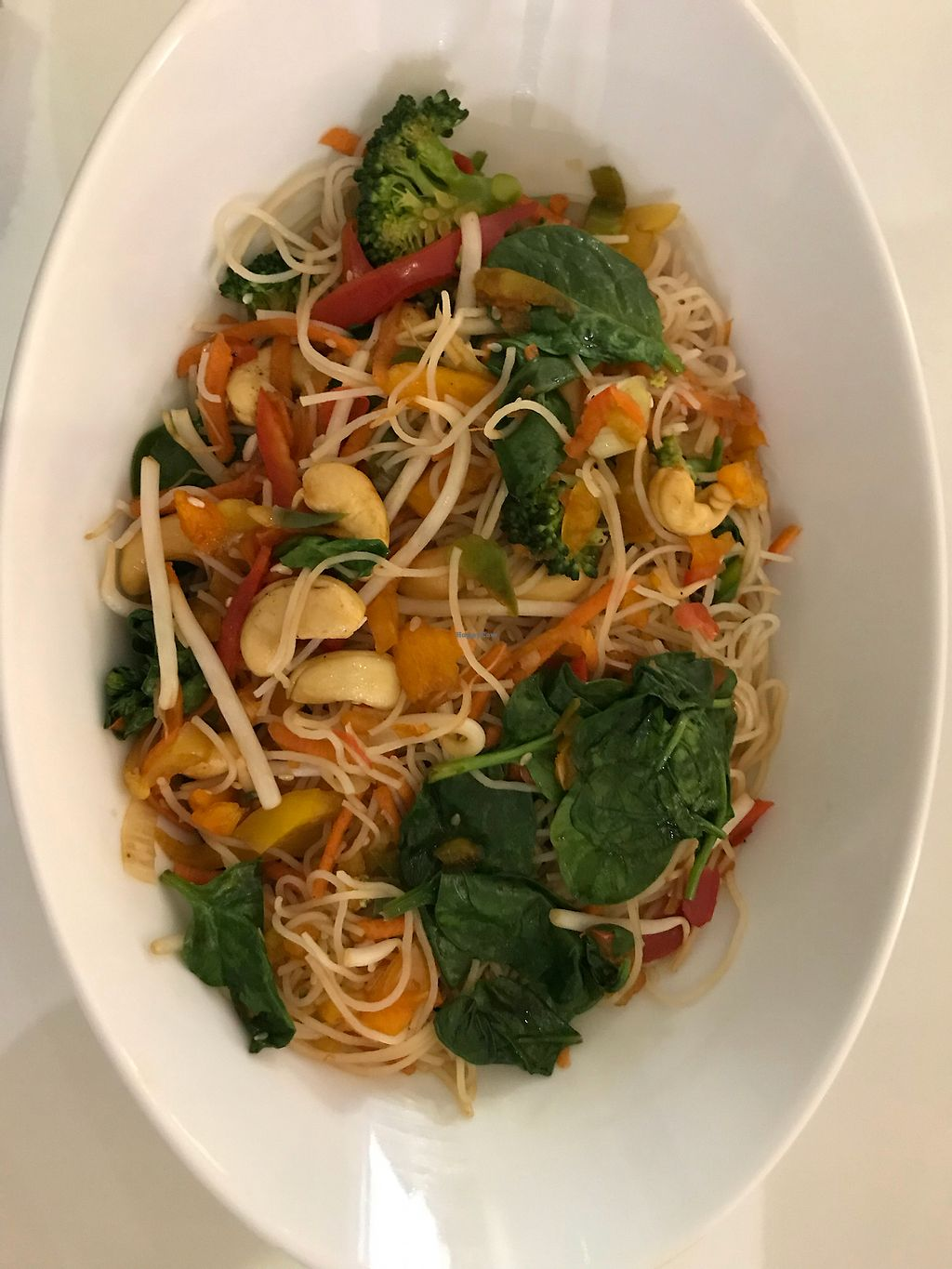 """Photo of Stacked Lunch Bar  by <a href=""""/members/profile/Millie10"""">Millie10</a> <br/>Cashew noodles <br/> January 8, 2018  - <a href='/contact/abuse/image/108778/344259'>Report</a>"""