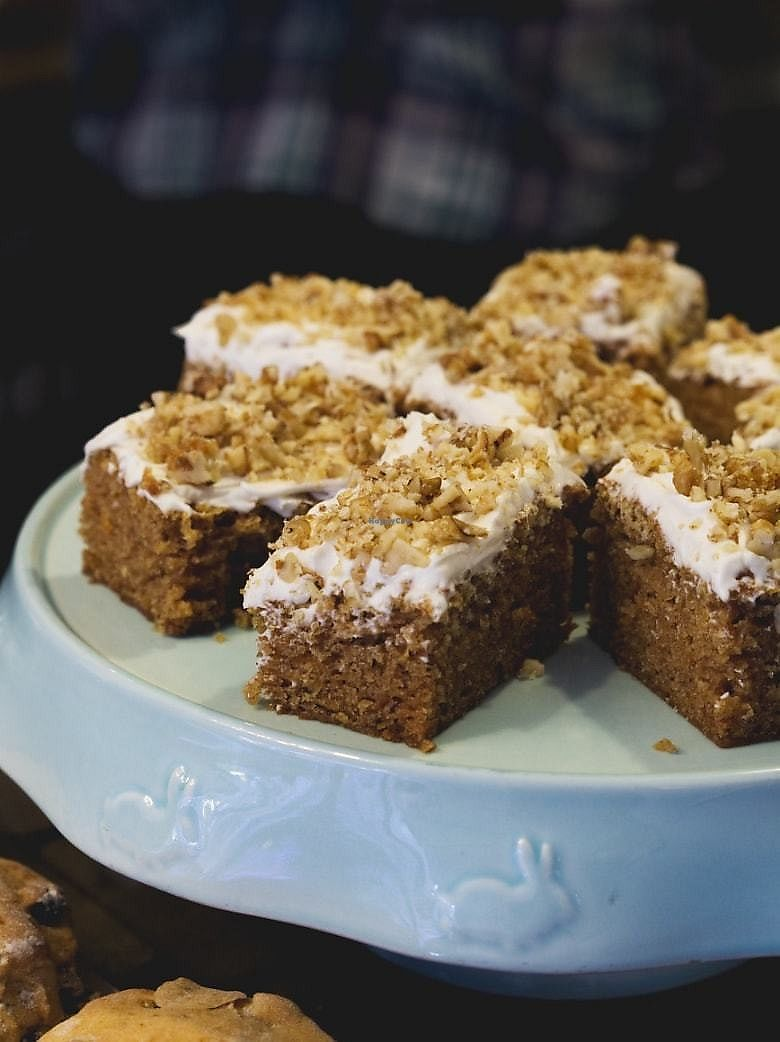 """Photo of Seeds for the Soul  by <a href=""""/members/profile/EmmaFaeEdinburgh"""">EmmaFaeEdinburgh</a> <br/>Carrot cake <br/> February 11, 2018  - <a href='/contact/abuse/image/108790/358030'>Report</a>"""