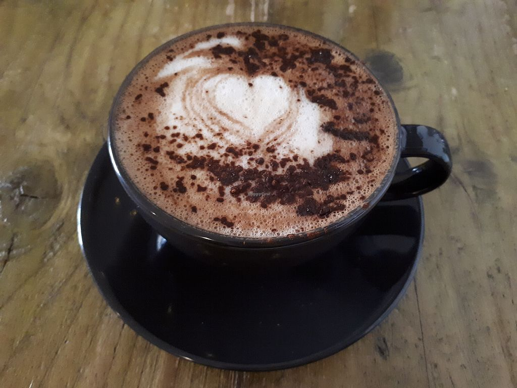 """Photo of Seeds for the Soul  by <a href=""""/members/profile/Huffapuffalo"""">Huffapuffalo</a> <br/>Oat mocha  <br/> March 9, 2018  - <a href='/contact/abuse/image/108790/368614'>Report</a>"""