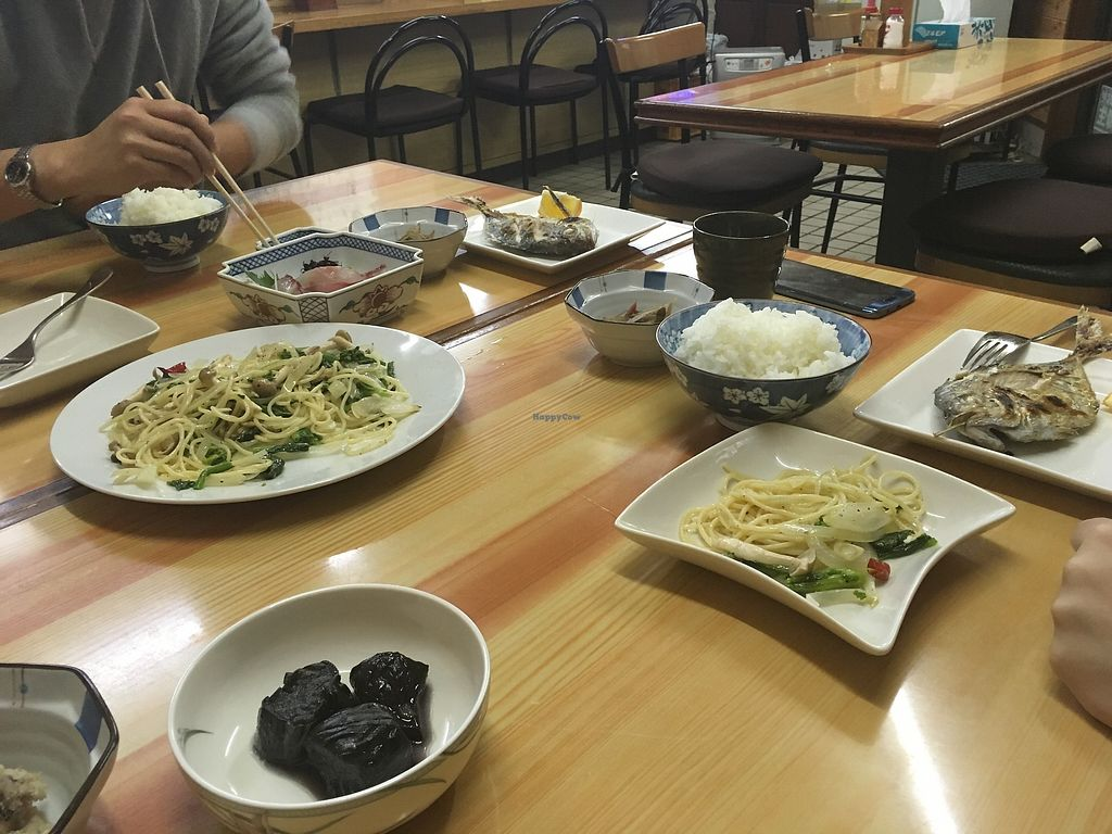 """Photo of Tsujigahana  by <a href=""""/members/profile/a.s."""">a.s.</a> <br/>The dishes with meat friends ate. I think it is only fair to show people what is usually served so that they can be warned in case they don't like to smell or look at something like that <br/> January 23, 2018  - <a href='/contact/abuse/image/108821/350055'>Report</a>"""