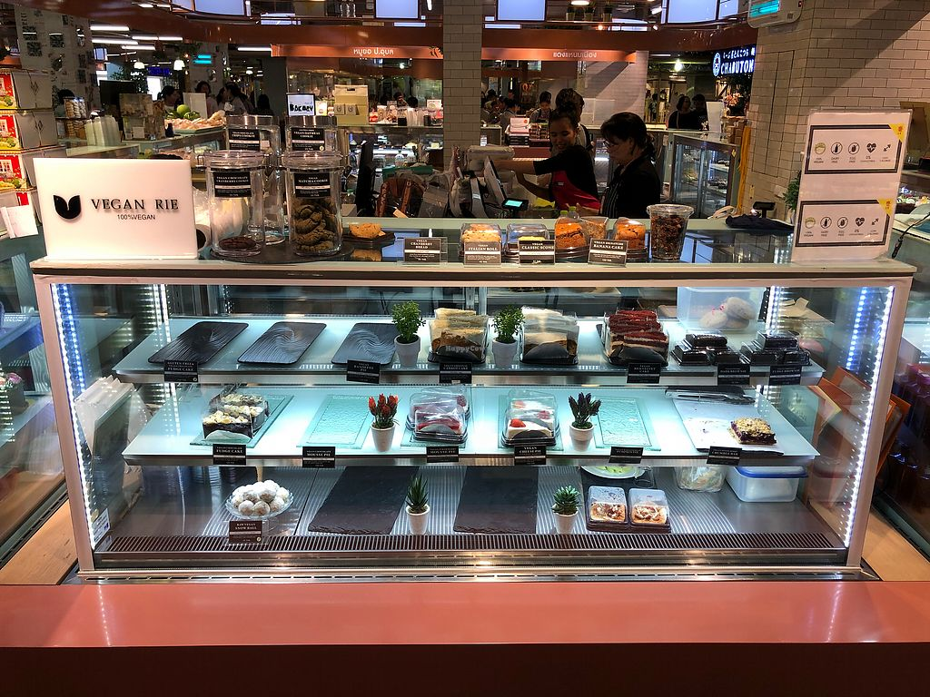 """Photo of Veganerie - Central Plaza  by <a href=""""/members/profile/JohnColeman"""">JohnColeman</a> <br/>A selection of sweet treats <br/> January 7, 2018  - <a href='/contact/abuse/image/108845/343851'>Report</a>"""