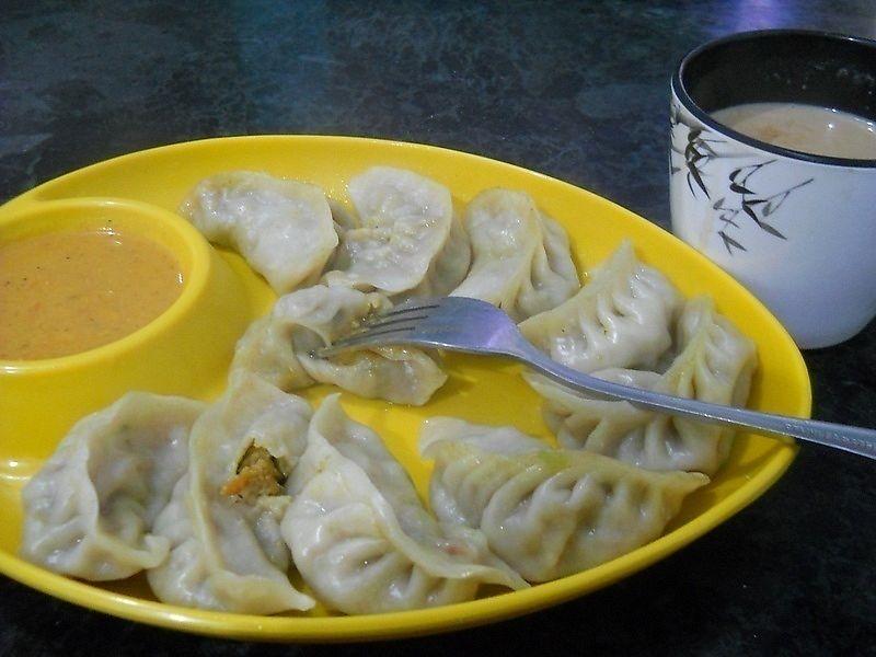 "Photo of Lumbini Sat Saheb Pure Vegetarian Food  by <a href=""/members/profile/Masala-Dosa"">Masala-Dosa</a> <br/>Veg Momo <br/> January 7, 2018  - <a href='/contact/abuse/image/108849/343820'>Report</a>"