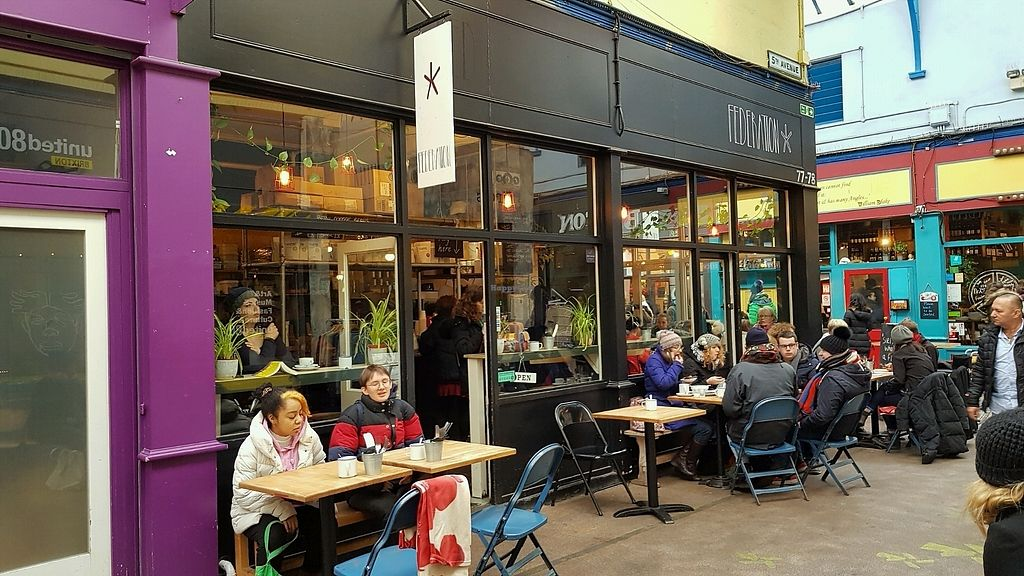 """Photo of Federation Coffee  by <a href=""""/members/profile/jollypig"""">jollypig</a> <br/>Outside <br/> March 18, 2018  - <a href='/contact/abuse/image/108851/372367'>Report</a>"""