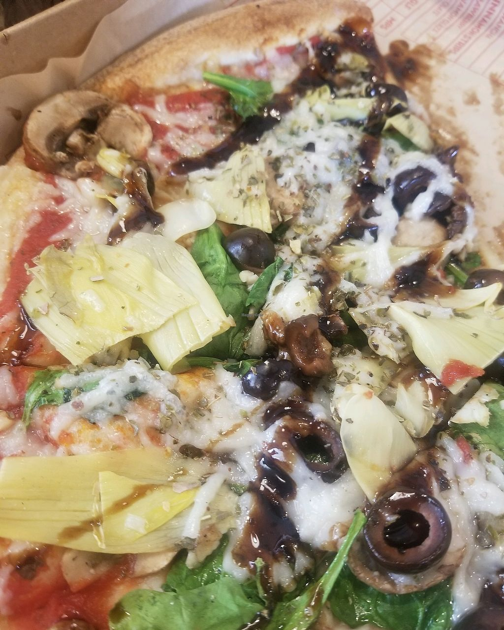 "Photo of Mod Pizza  by <a href=""/members/profile/RuthieRey"">RuthieRey</a> <br/>vegan pizza! <br/> April 21, 2018  - <a href='/contact/abuse/image/108891/389136'>Report</a>"