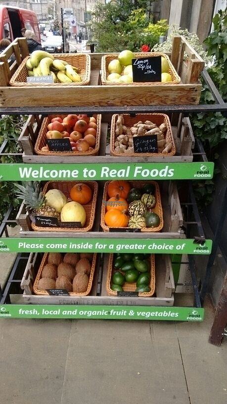 """Photo of Real Foods  by <a href=""""/members/profile/craigmc"""">craigmc</a> <br/>organic <br/> October 11, 2016  - <a href='/contact/abuse/image/1088/181372'>Report</a>"""