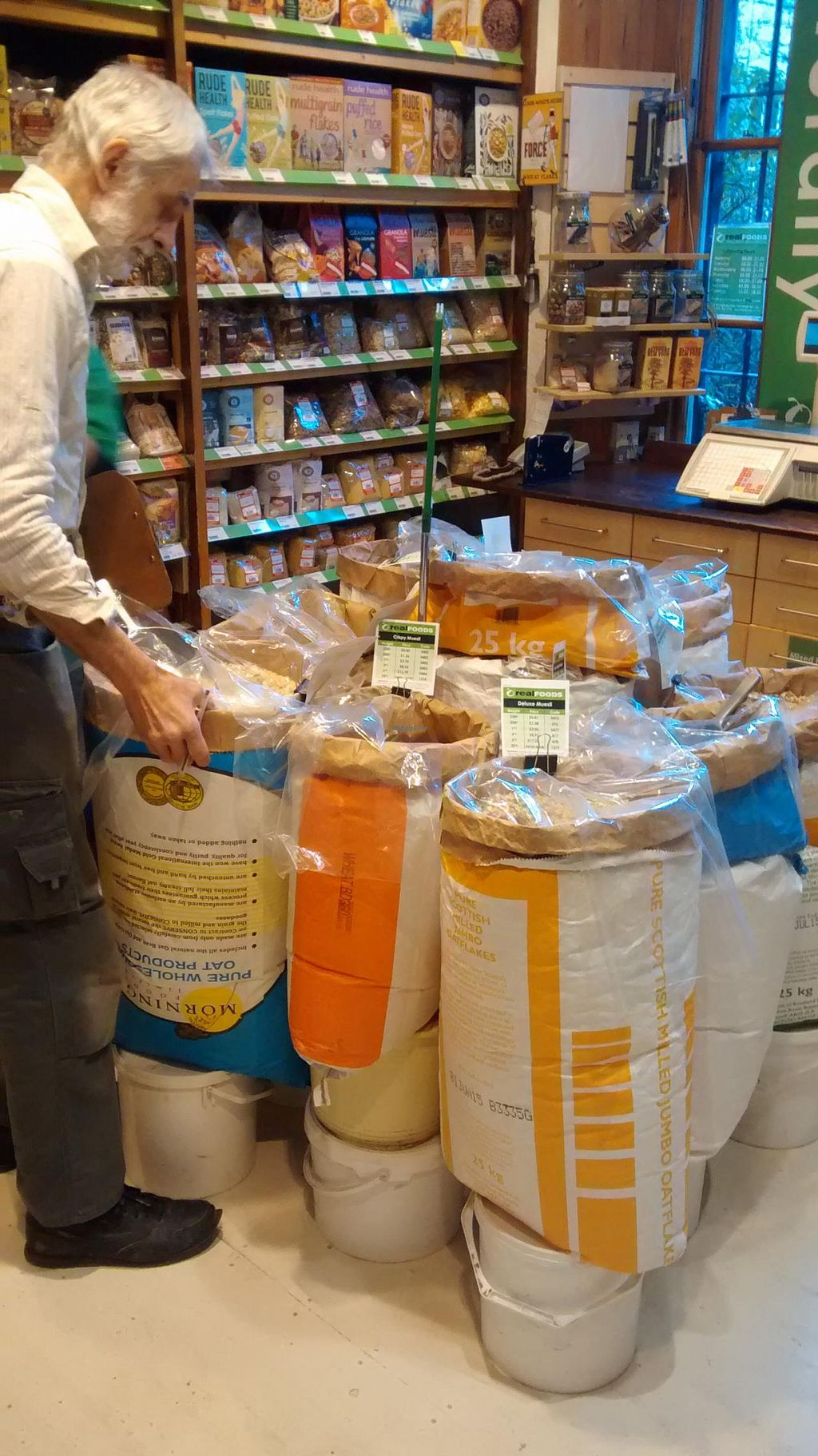 """Photo of Real Foods  by <a href=""""/members/profile/craigmc"""">craigmc</a> <br/>Great cereals <br/> February 6, 2014  - <a href='/contact/abuse/image/1088/63794'>Report</a>"""