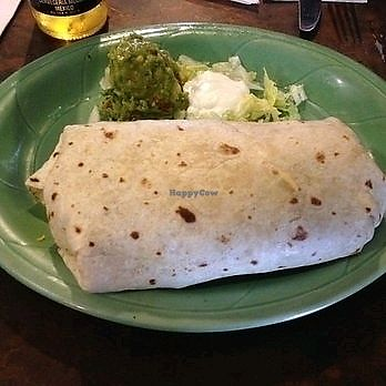 """Photo of Chulo's Cafe and Cantina  by <a href=""""/members/profile/Popcorn%21"""">Popcorn!</a> <br/>Burritos can be made vegan upon request <br/> January 24, 2018  - <a href='/contact/abuse/image/108940/350358'>Report</a>"""