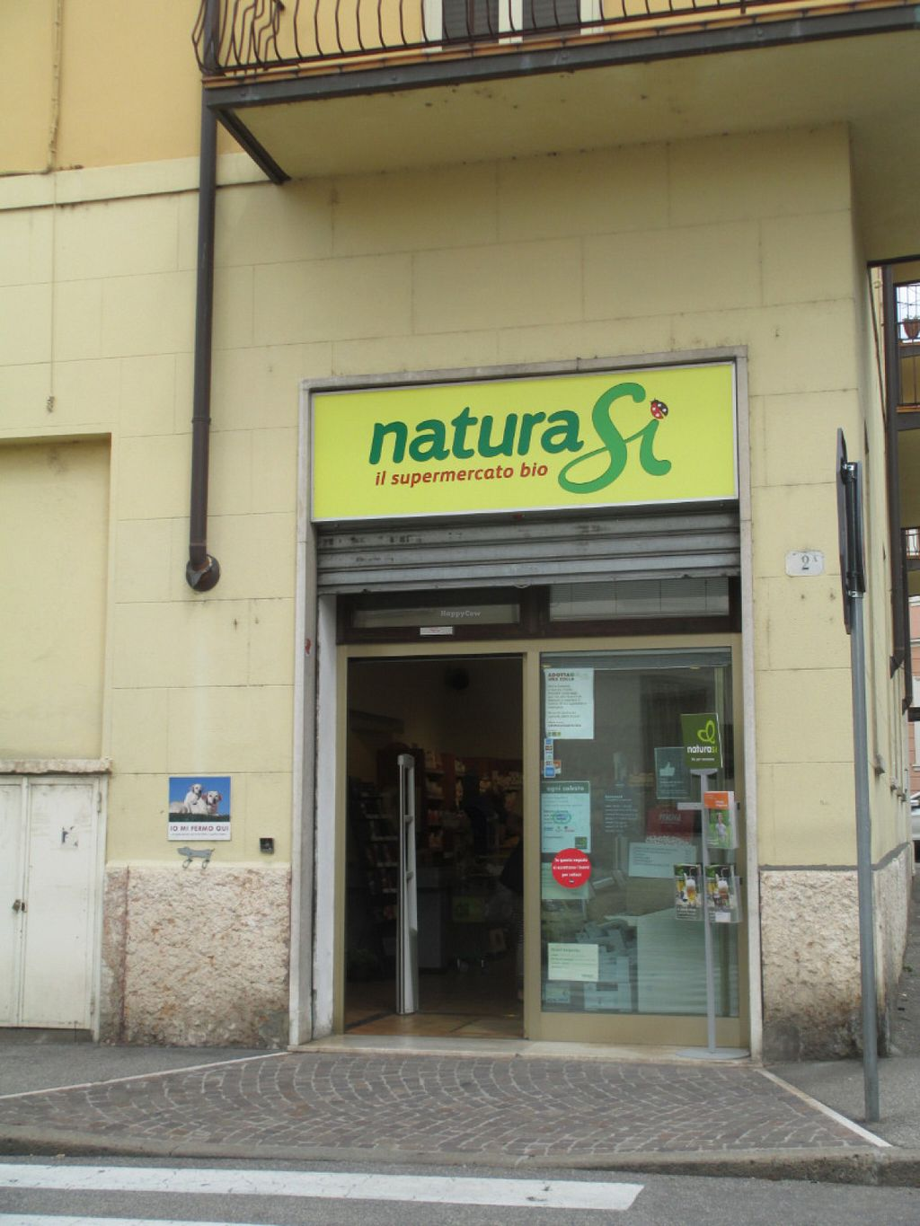 "Photo of NaturaSi - Via Carlo Pisacane  by <a href=""/members/profile/Joyatri"">Joyatri</a> <br/>Store front <br/> July 16, 2016  - <a href='/contact/abuse/image/10894/160181'>Report</a>"
