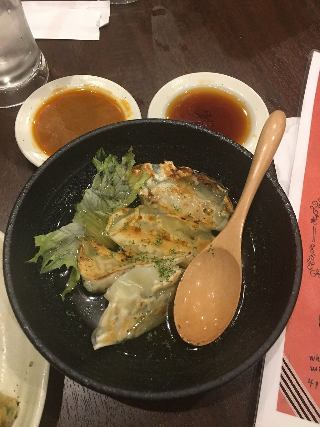 "Photo of Chao Chao Gyoza Shijo-Kawaramachi  by <a href=""/members/profile/SummerLee"">SummerLee</a> <br/>Mushroom risotto in broth <br/> April 3, 2018  - <a href='/contact/abuse/image/108953/380159'>Report</a>"