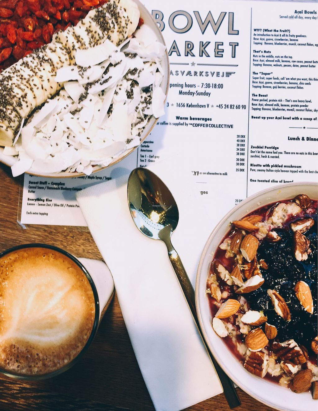 """Photo of Bowl Market  by <a href=""""/members/profile/KatjaValentinaKramp"""">KatjaValentinaKramp</a> <br/>Delicious breakfast options  <br/> January 30, 2018  - <a href='/contact/abuse/image/108954/352799'>Report</a>"""
