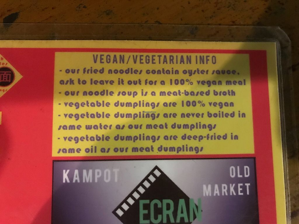 """Photo of Ecran Noodles  by <a href=""""/members/profile/Avgi"""">Avgi</a> <br/>Vegan/ vegetarian info <br/> January 22, 2018  - <a href='/contact/abuse/image/108957/349649'>Report</a>"""