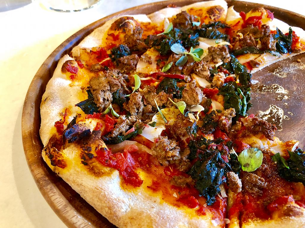 """Photo of Vina Enoteca  by <a href=""""/members/profile/simguy05"""">simguy05</a> <br/>The Impossible Pizza <br/> January 8, 2018  - <a href='/contact/abuse/image/108971/344370'>Report</a>"""