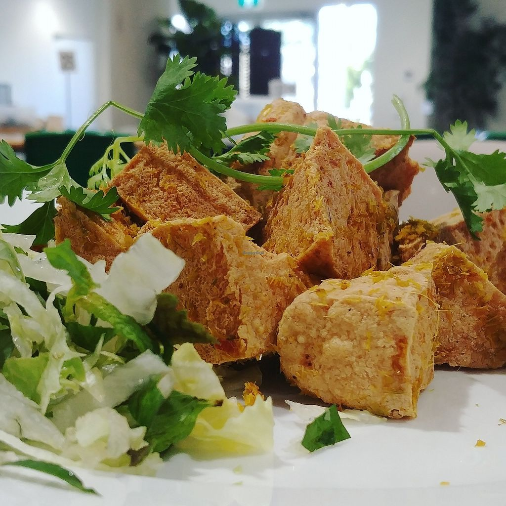 """Photo of Hoa Nghiem Vegie Hut  by <a href=""""/members/profile/karlaess"""">karlaess</a> <br/>Lemongrass Chilli tofu <br/> February 14, 2018  - <a href='/contact/abuse/image/108975/359169'>Report</a>"""