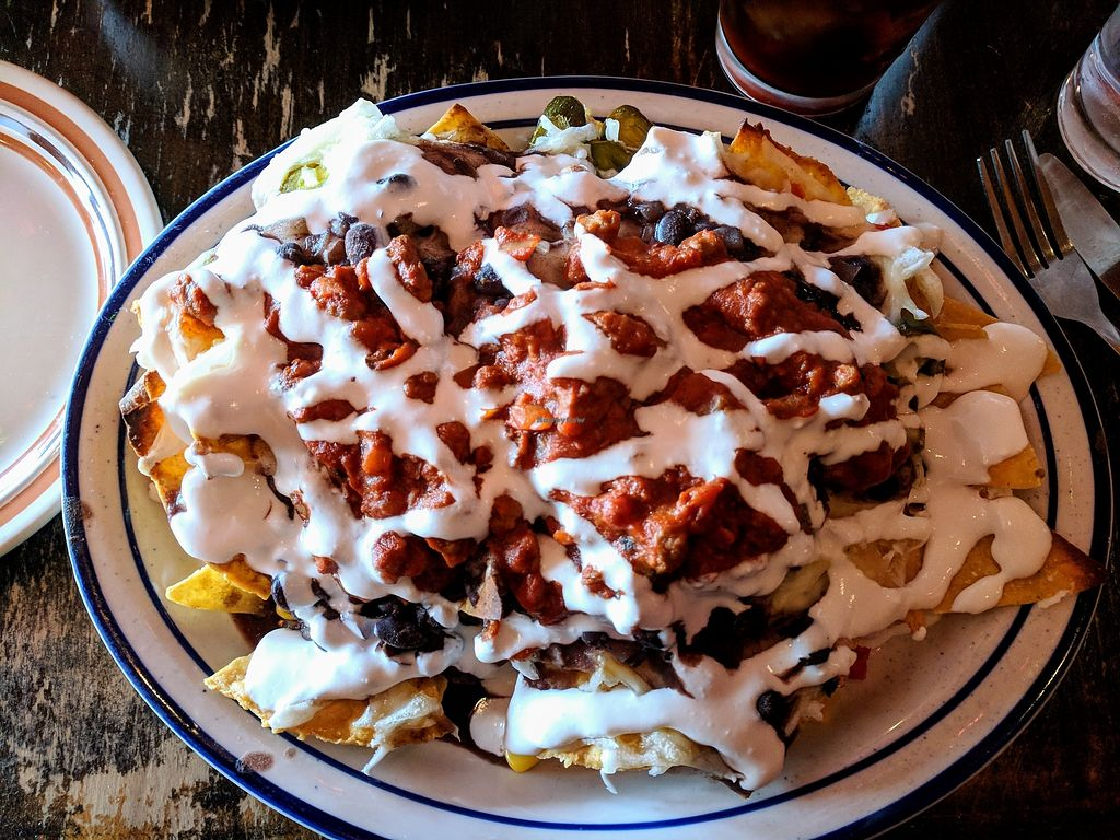 "Photo of Cantina Los Caballitos  by <a href=""/members/profile/lindsayshae123"">lindsayshae123</a> <br/>Order those nachos and tell them to ""make it vegan"" for all the cheese, crema and beef your vegan heart can adore <br/> January 8, 2018  - <a href='/contact/abuse/image/109027/344513'>Report</a>"