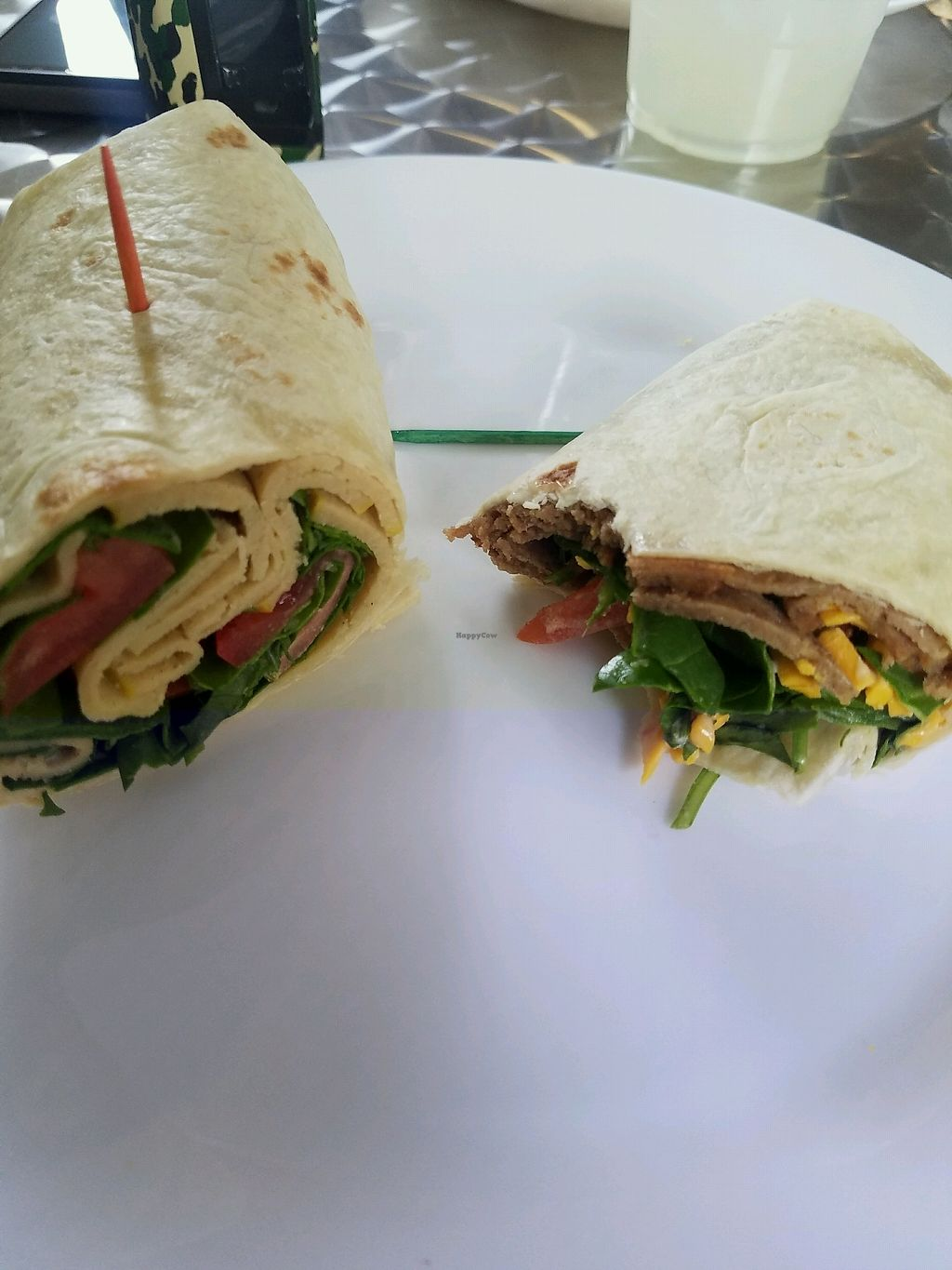 """Photo of Wildflower Vegan Co. Featuring Burnamup  by <a href=""""/members/profile/Myjeanny01"""">Myjeanny01</a> <br/>ham and turkey wraps <br/> January 27, 2018  - <a href='/contact/abuse/image/109093/351575'>Report</a>"""