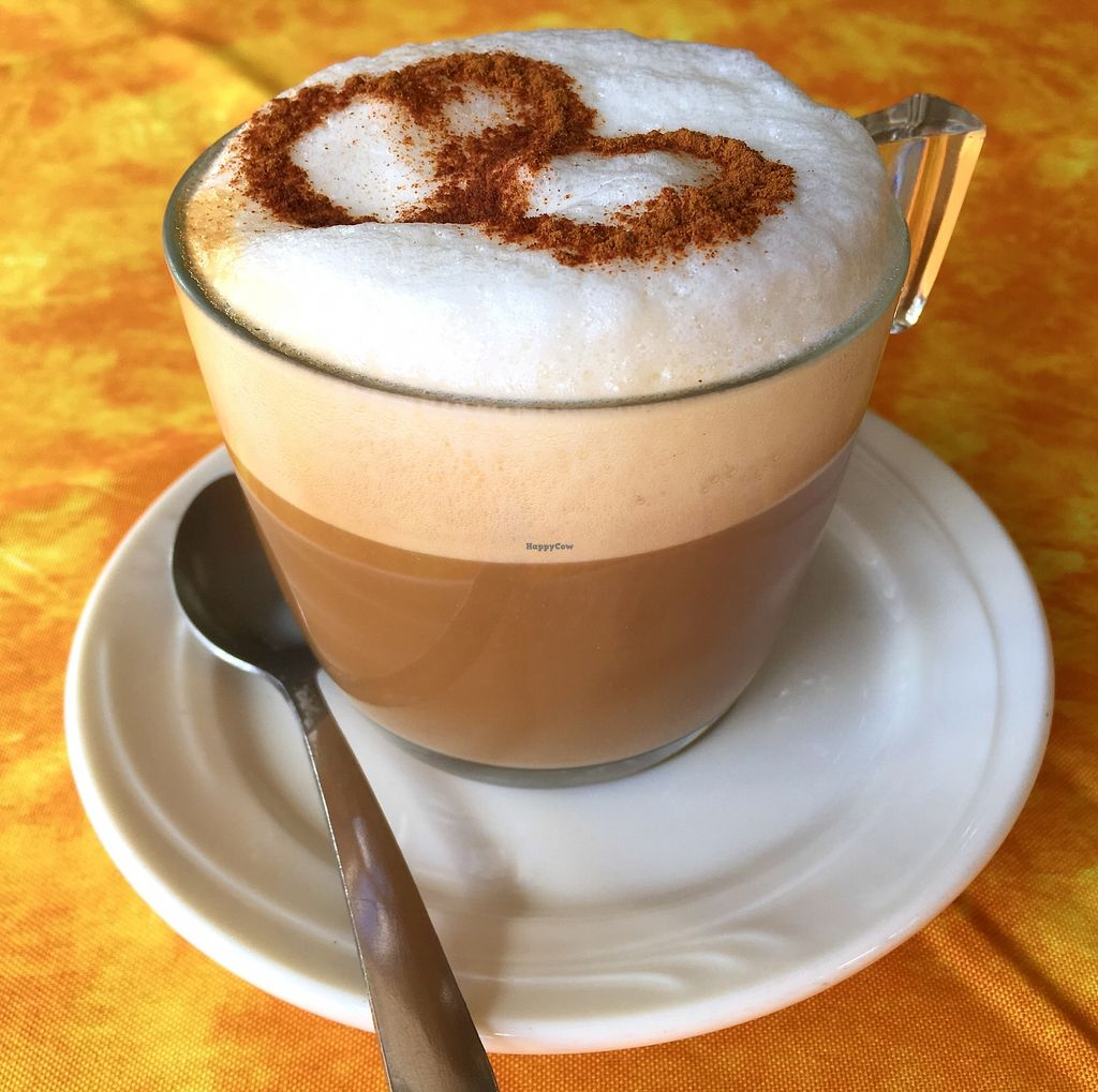 """Photo of Coffee Break  by <a href=""""/members/profile/BananaIce"""">BananaIce</a> <br/>Vegan cappuccino <br/> January 9, 2018  - <a href='/contact/abuse/image/109098/344829'>Report</a>"""