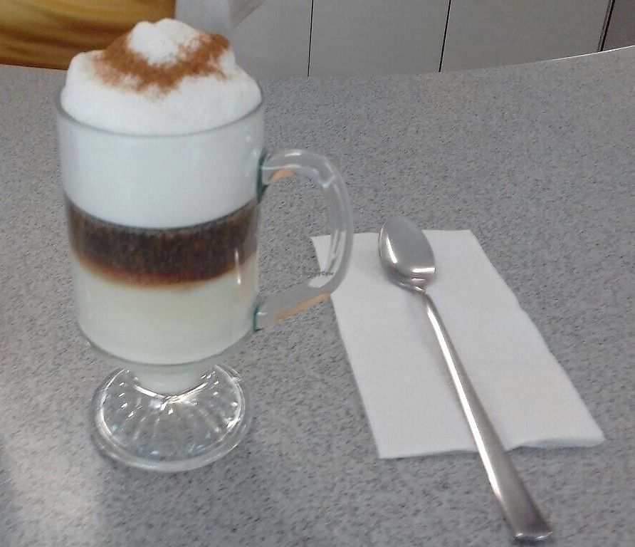 """Photo of Coffee Break  by <a href=""""/members/profile/BananaIce"""">BananaIce</a> <br/>Vegan latte macchiato  <br/> January 9, 2018  - <a href='/contact/abuse/image/109098/344831'>Report</a>"""