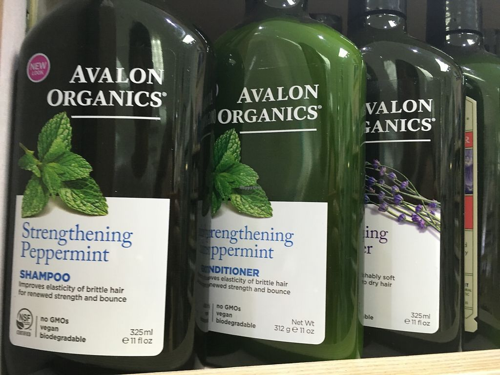 """Photo of Nature's Discount  by <a href=""""/members/profile/BananaIce"""">BananaIce</a> <br/>Vegan shampoos, conditioners etc <br/> January 24, 2018  - <a href='/contact/abuse/image/109116/350330'>Report</a>"""