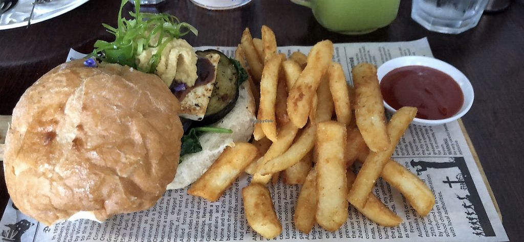 "Photo of Cafe Nowa  by <a href=""/members/profile/DebyHorne"">DebyHorne</a> <br/>Burger & chips <br/> January 18, 2018  - <a href='/contact/abuse/image/109117/347899'>Report</a>"