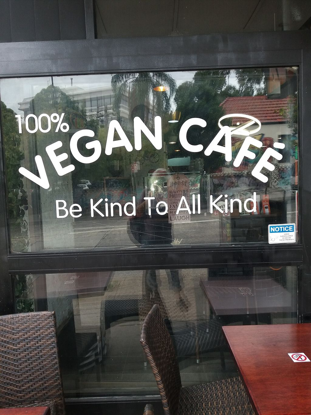 "Photo of Cafe Nowa  by <a href=""/members/profile/veganvirtues"">veganvirtues</a> <br/>Entrance <br/> February 22, 2018  - <a href='/contact/abuse/image/109117/362225'>Report</a>"