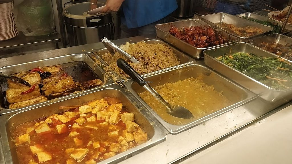 """Photo of Food Junction Vegetarian Stall  by <a href=""""/members/profile/JimmySeah"""">JimmySeah</a> <br/>buffet spread selection  <br/> January 21, 2018  - <a href='/contact/abuse/image/109164/349323'>Report</a>"""