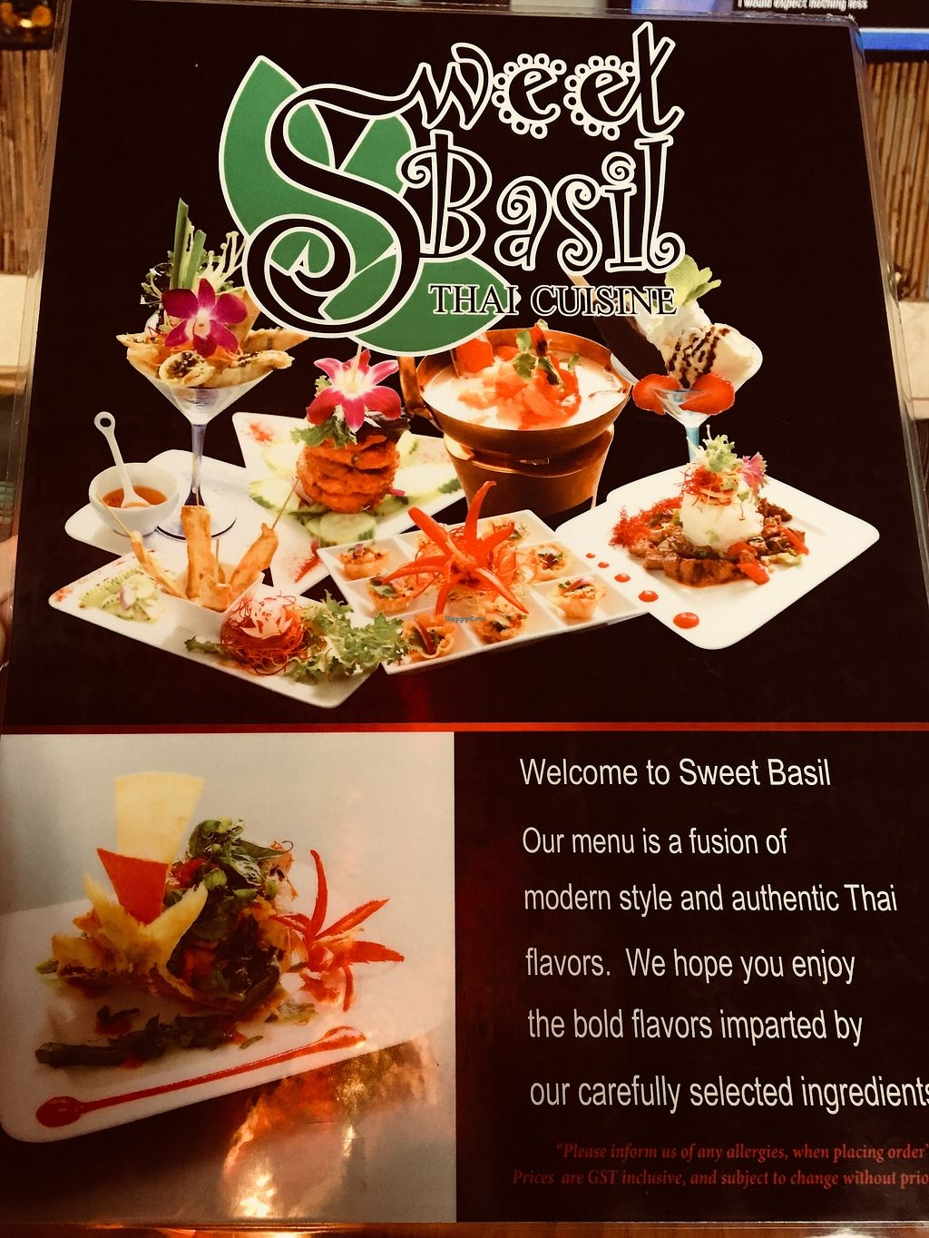"""Photo of Sweet Basil Thai Cuisine  by <a href=""""/members/profile/Clean%26Green"""">Clean&Green</a> <br/>Sweet Basil Thai <br/> January 10, 2018  - <a href='/contact/abuse/image/109200/345178'>Report</a>"""