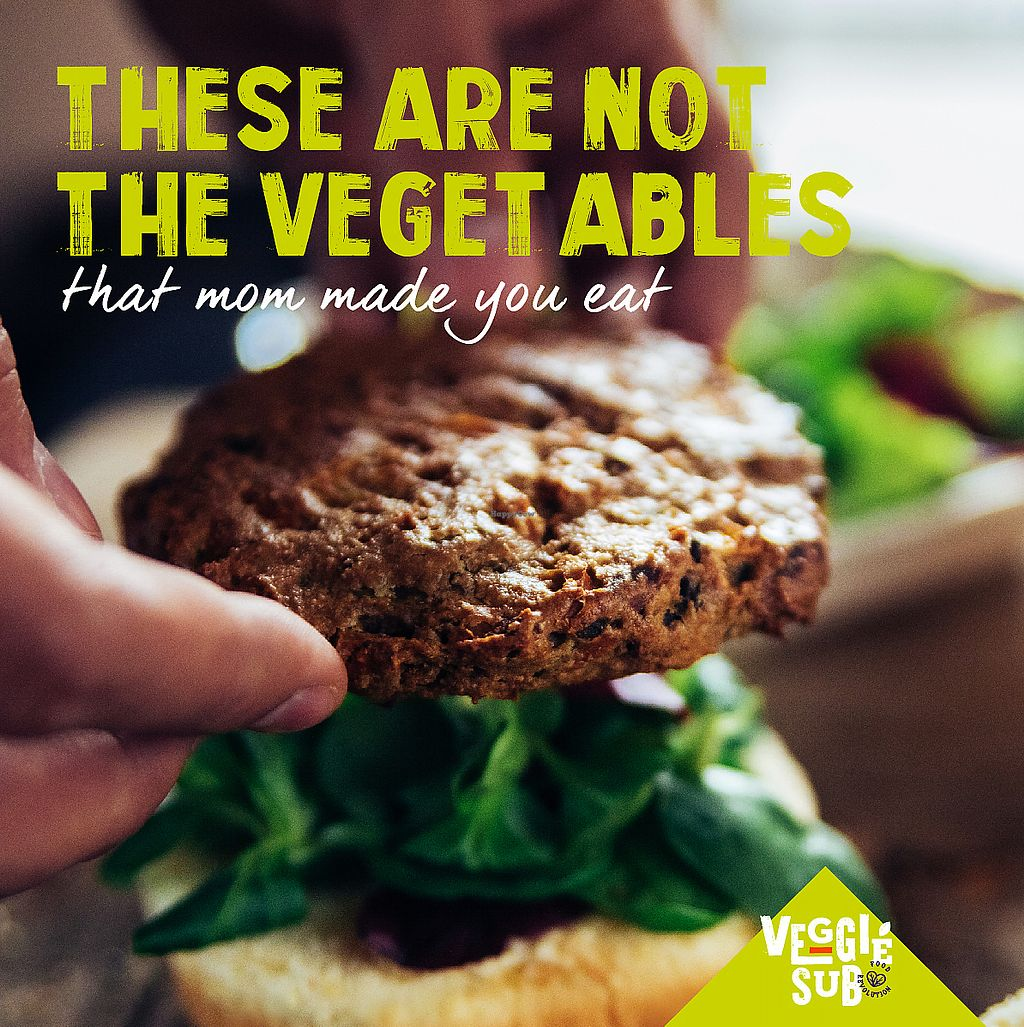 """Photo of Veggie Sub  by <a href=""""/members/profile/SusanRodriguez"""">SusanRodriguez</a> <br/>We are the revolution! Veggie Sub is the best!   <br/> January 18, 2018  - <a href='/contact/abuse/image/109220/348143'>Report</a>"""