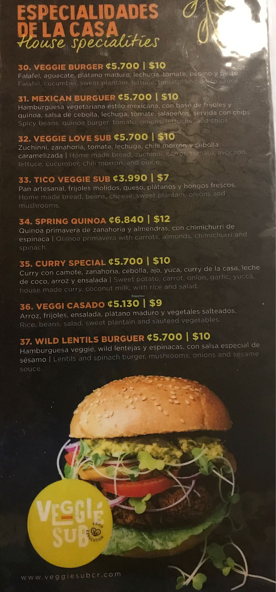 """Photo of Veggie Sub  by <a href=""""/members/profile/GaryBartlett"""">GaryBartlett</a> <br/>Menu 3 <br/> April 2, 2018  - <a href='/contact/abuse/image/109220/379654'>Report</a>"""