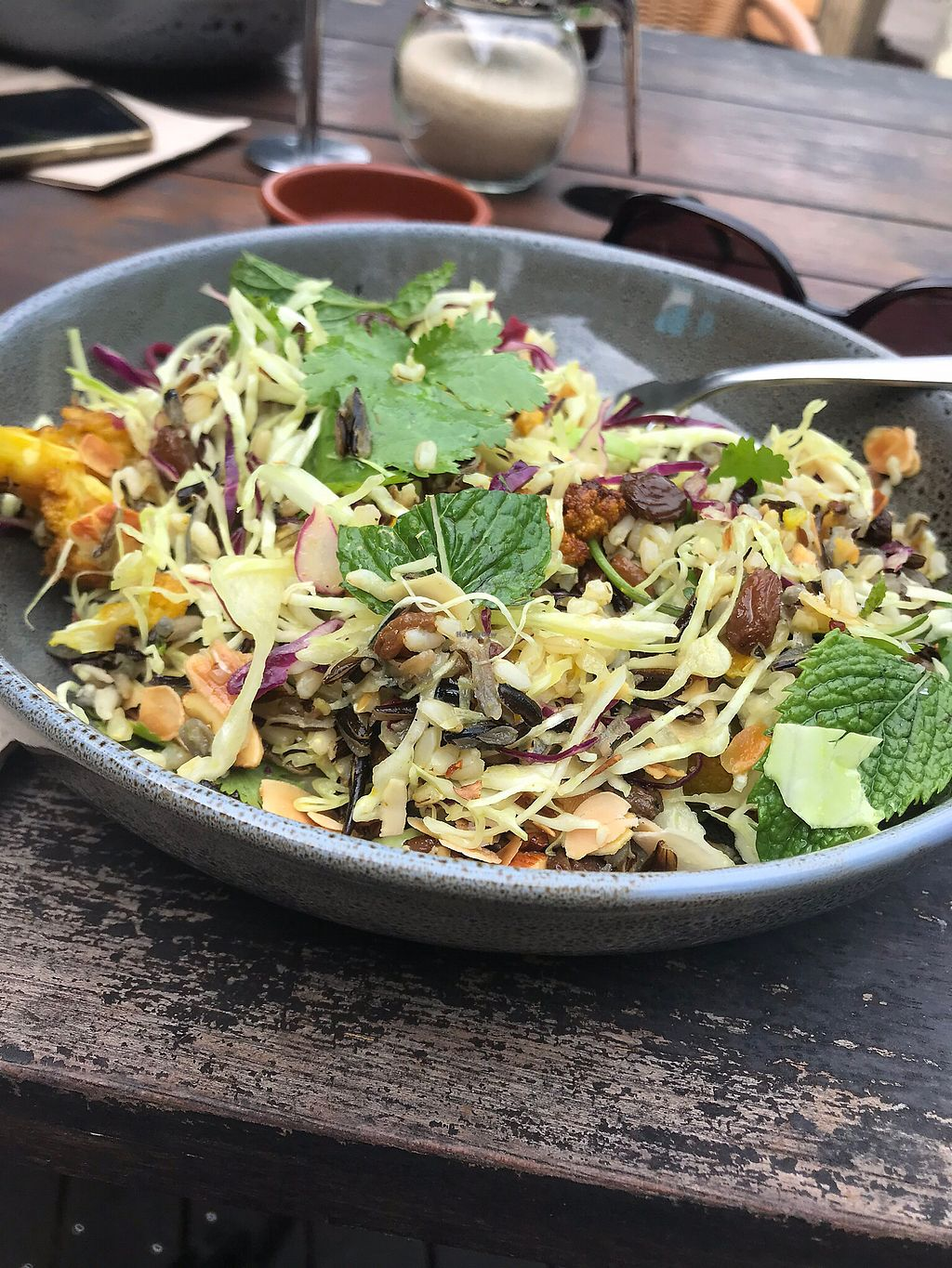 """Photo of Poinciana  by <a href=""""/members/profile/deejay96"""">deejay96</a> <br/>Black wild rice and turmeric cauliflower. Big bowl of nutrition  <br/> January 11, 2018  - <a href='/contact/abuse/image/109230/345387'>Report</a>"""
