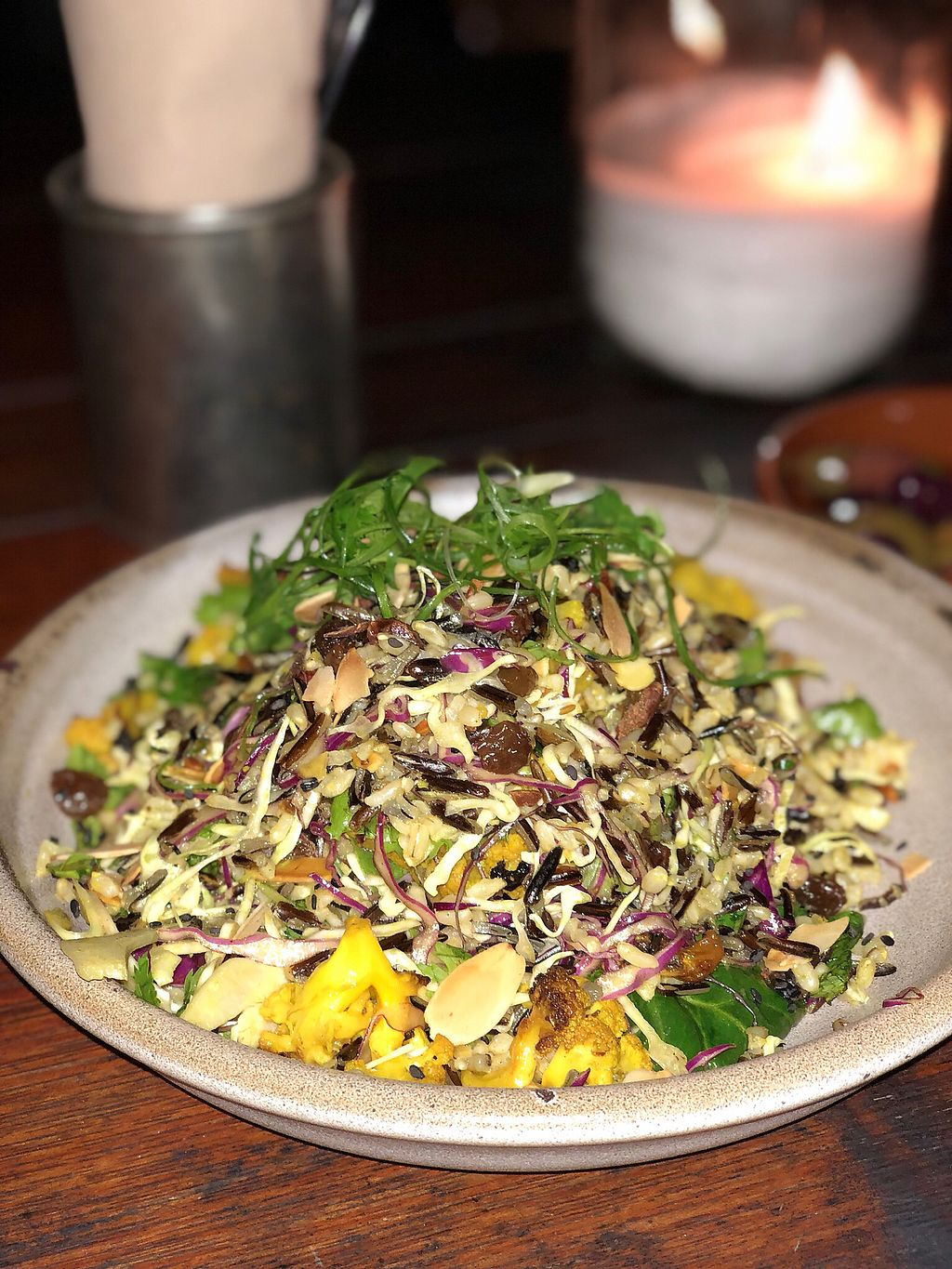 """Photo of Poinciana  by <a href=""""/members/profile/ben_eitel"""">ben_eitel</a> <br/>Black wild rice / turmeric cauliflower / red cabbage l <br/> January 17, 2018  - <a href='/contact/abuse/image/109230/347524'>Report</a>"""