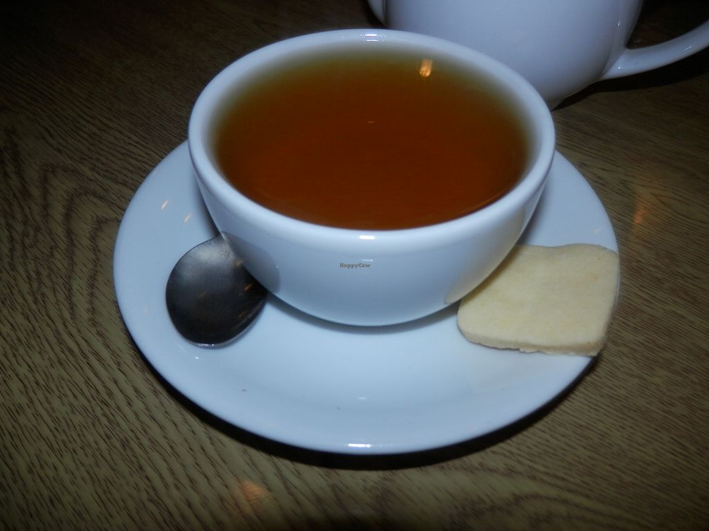 "Photo of Penelope's Cafe   by <a href=""/members/profile/Vegan_Belle"">Vegan_Belle</a> <br/>Peppermint tea with vegan/gluten free biscuit <br/> January 12, 2018  - <a href='/contact/abuse/image/109247/345720'>Report</a>"