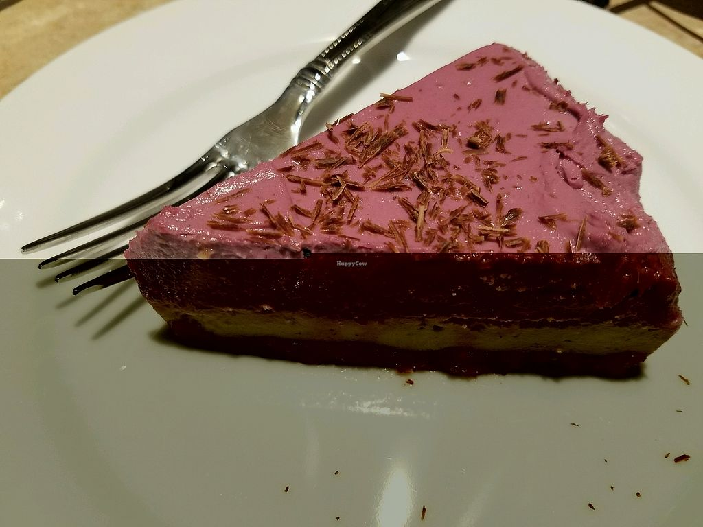 """Photo of Food For Thought  by <a href=""""/members/profile/jad37379"""">jad37379</a> <br/>simply awesome (vegan!) hazelnut raspberry torte  <br/> February 19, 2018  - <a href='/contact/abuse/image/10924/361174'>Report</a>"""