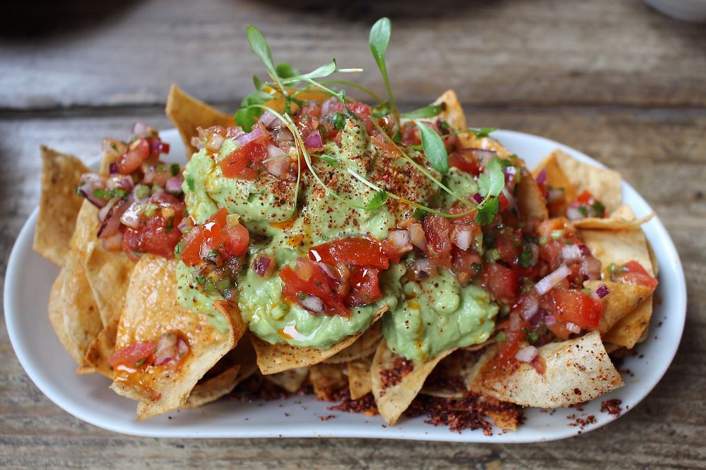 """Photo of The Spread Eagle  by <a href=""""/members/profile/AllGoodAllVegan"""">AllGoodAllVegan</a> <br/>Beautiful Corn Tortilla Chips <br/> January 21, 2018  - <a href='/contact/abuse/image/109265/349355'>Report</a>"""