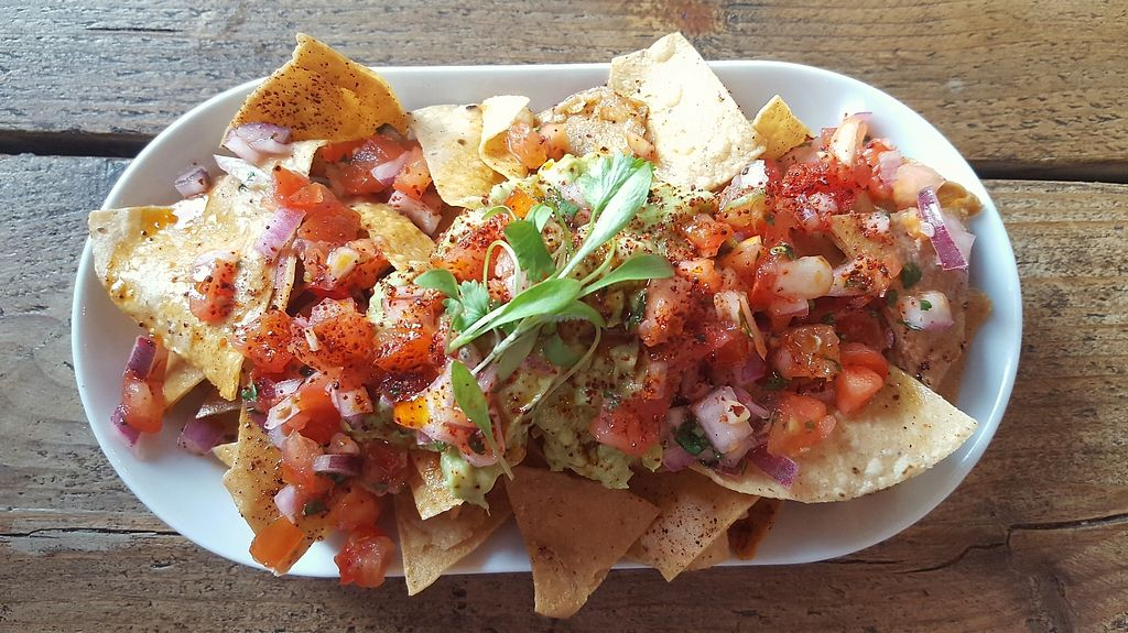 """Photo of The Spread Eagle  by <a href=""""/members/profile/VeganAnnaS"""">VeganAnnaS</a> <br/>Tortilla chips <br/> April 15, 2018  - <a href='/contact/abuse/image/109265/386473'>Report</a>"""
