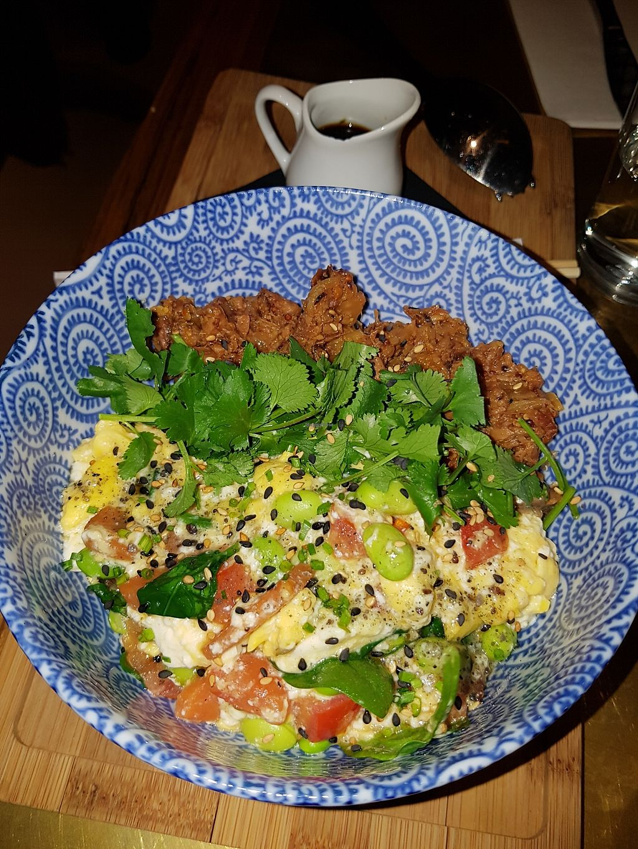 "Photo of Flax & Kale - Sant Pere Més  by <a href=""/members/profile/estefinparis"">estefinparis</a> <br/>Japanese vegan bowl  <br/> January 11, 2018  - <a href='/contact/abuse/image/109282/345609'>Report</a>"