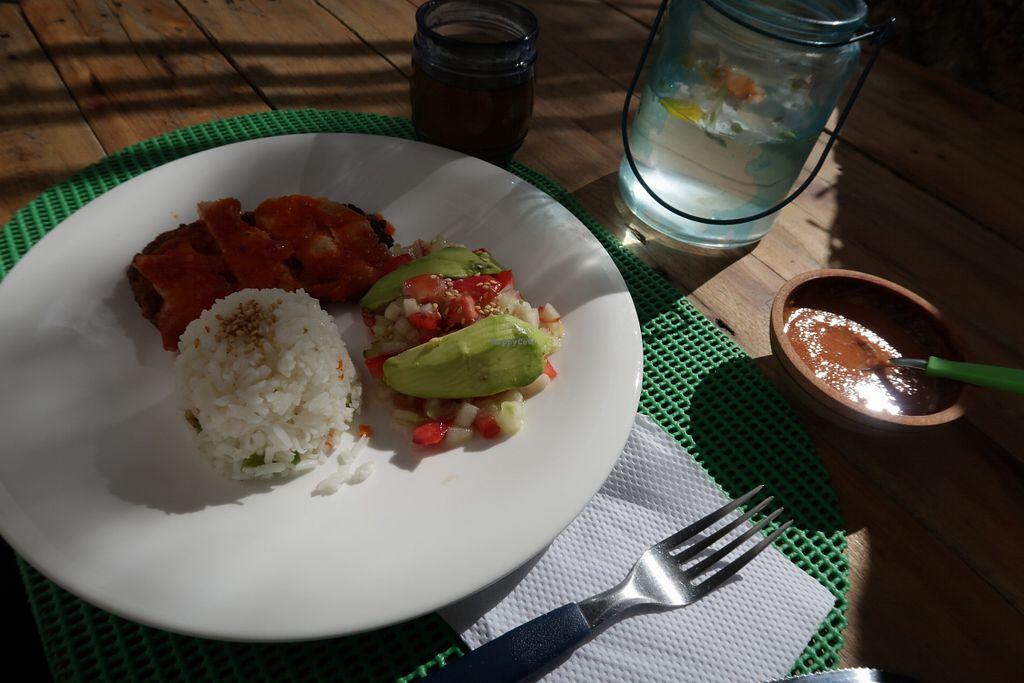 """Photo of Qaway Mirar  by <a href=""""/members/profile/ajito"""">ajito</a> <br/>Lunch menu quinoa milanesa <br/> April 19, 2018  - <a href='/contact/abuse/image/109287/388258'>Report</a>"""