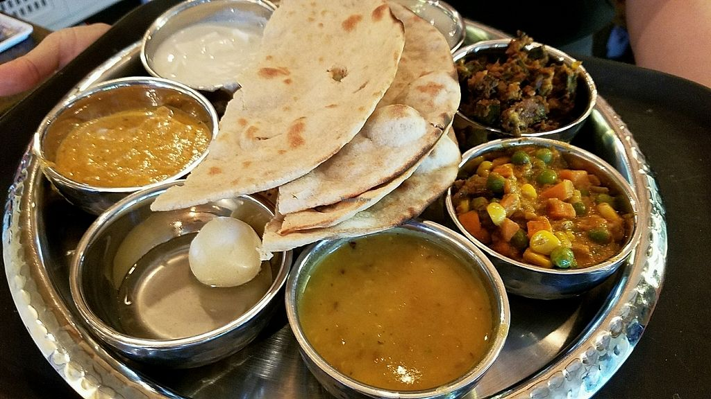 "Photo of Chana Masala Indian Restaurant  by <a href=""/members/profile/eric"">eric</a> <br/>Thali <br/> January 12, 2018  - <a href='/contact/abuse/image/109299/345675'>Report</a>"