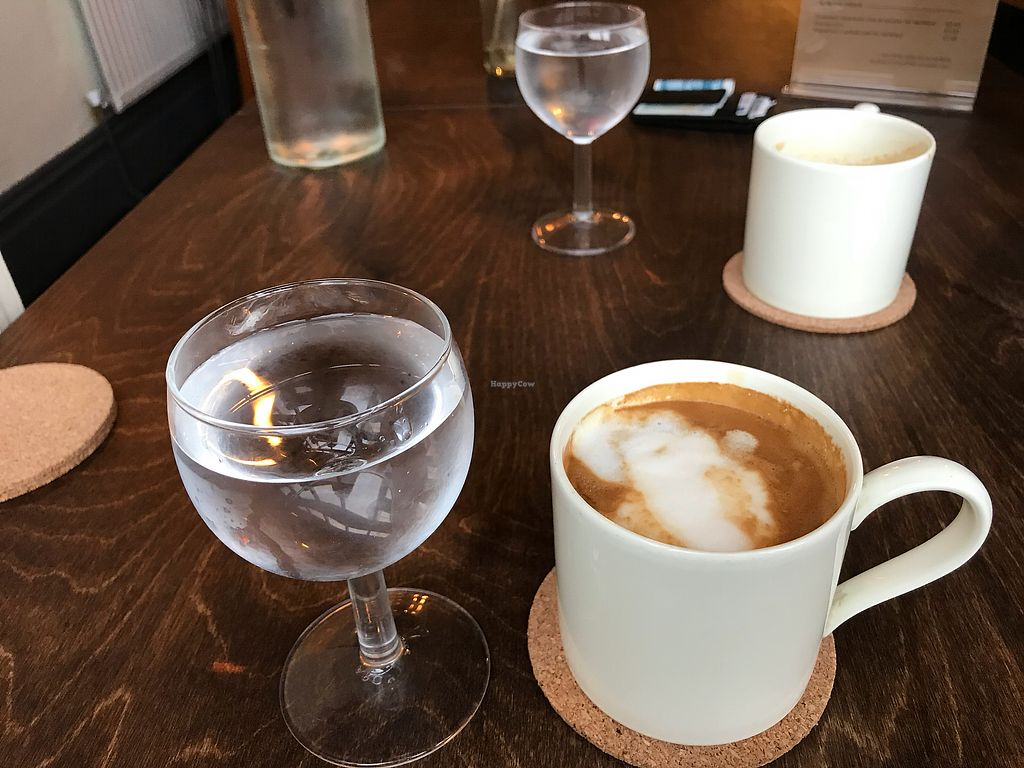 """Photo of One Sixty  by <a href=""""/members/profile/VickiWanSlattery"""">VickiWanSlattery</a> <br/>Latte with soya milk  <br/> January 21, 2018  - <a href='/contact/abuse/image/109316/349262'>Report</a>"""