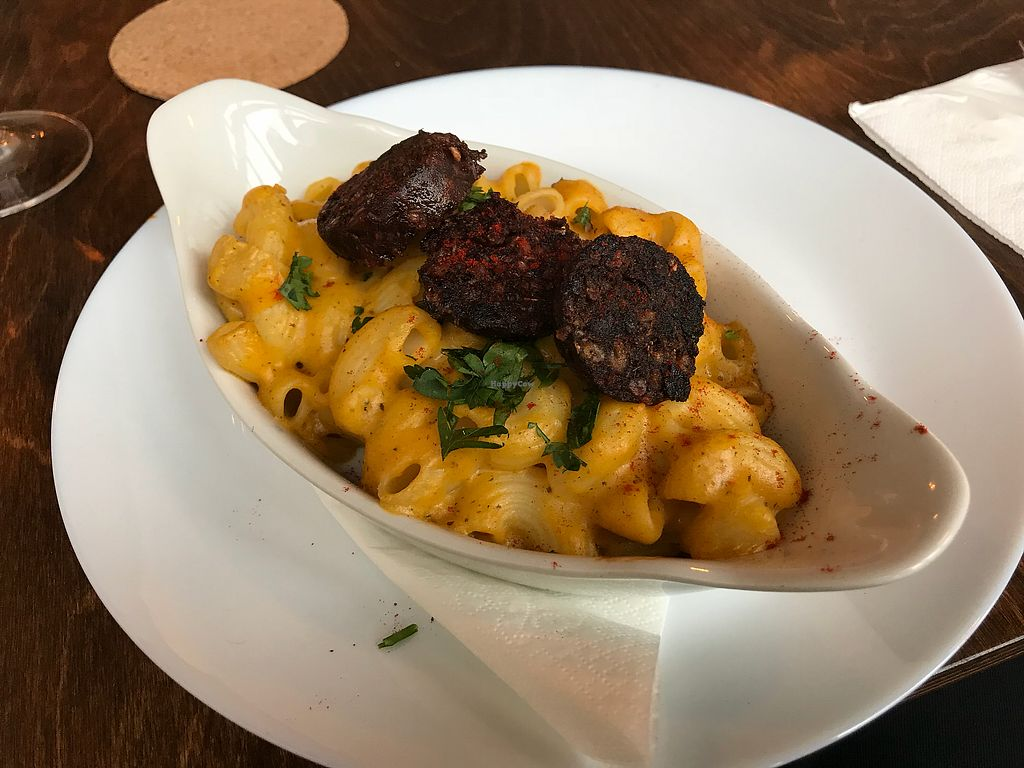 """Photo of One Sixty  by <a href=""""/members/profile/VickiWanSlattery"""">VickiWanSlattery</a> <br/>Mac and cheese (vegan)  <br/> January 21, 2018  - <a href='/contact/abuse/image/109316/349263'>Report</a>"""