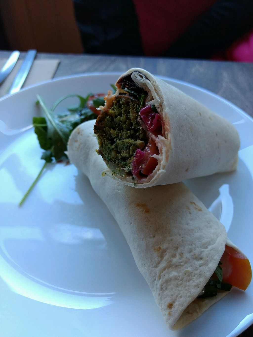 """Photo of One Sixty  by <a href=""""/members/profile/craigmc"""">craigmc</a> <br/>falafel wrap <br/> February 17, 2018  - <a href='/contact/abuse/image/109316/360337'>Report</a>"""
