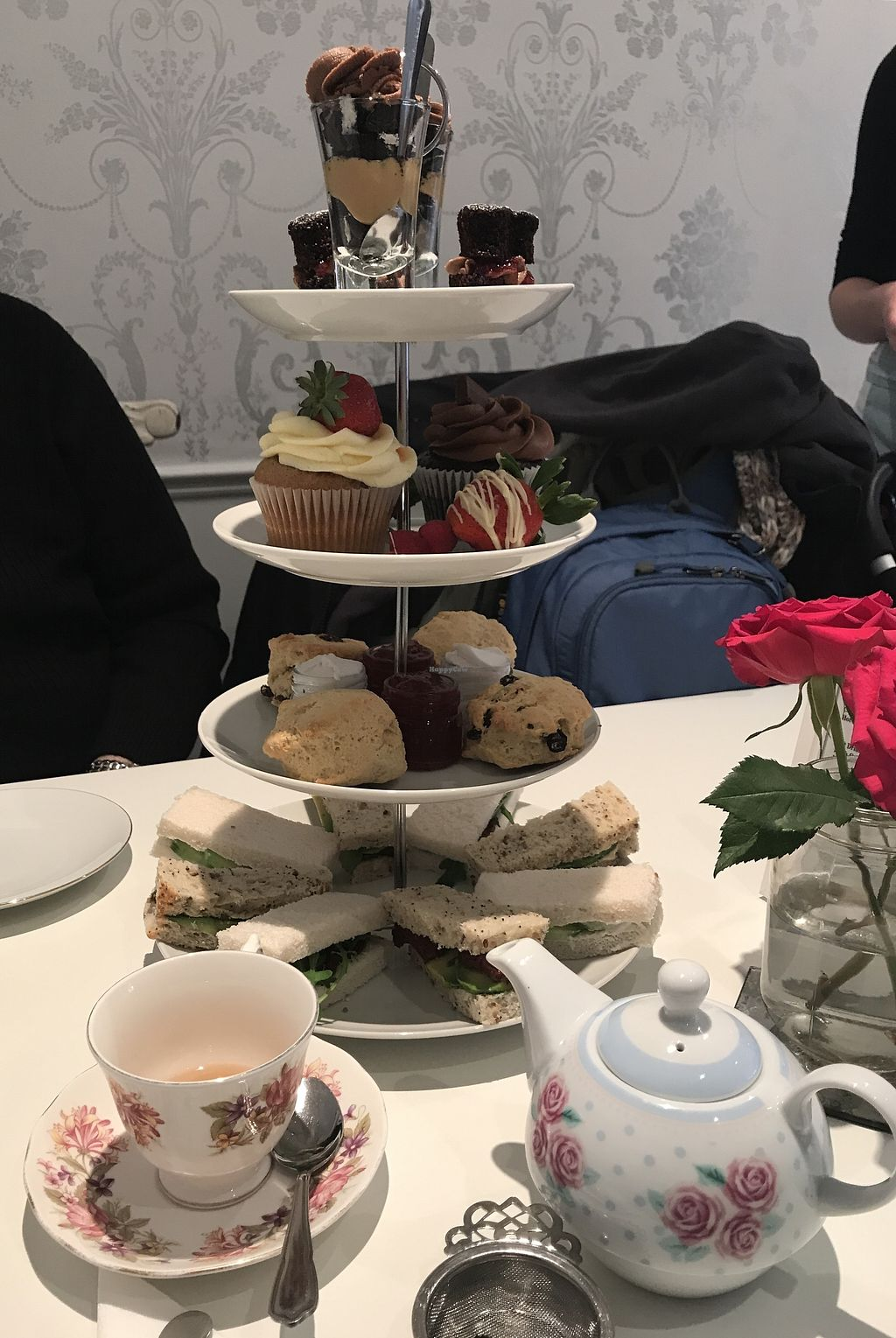 """Photo of Laura Kate  by <a href=""""/members/profile/ELyzab"""">ELyzab</a> <br/>Vegan afternoon tea  <br/> January 12, 2018  - <a href='/contact/abuse/image/109320/345886'>Report</a>"""