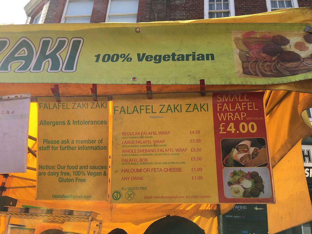 "Photo of Falafel Zaki Zaki  by <a href=""/members/profile/lysi"">lysi</a> <br/>Menu <br/> April 6, 2018  - <a href='/contact/abuse/image/109325/381427'>Report</a>"